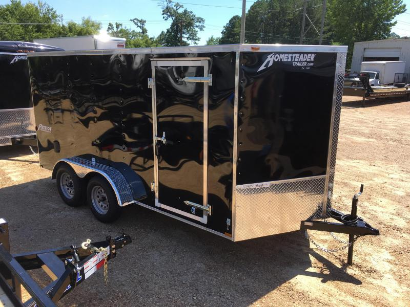 2017 Homesteader 7 x 14 Tandem Axle Enclosed Trailer