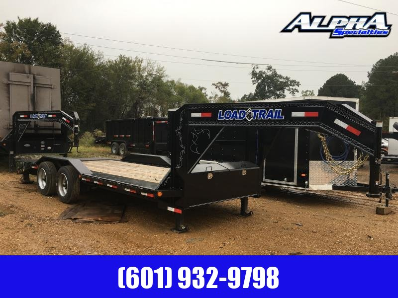 2019 Load Trail 20' HD Gooseneck Trailer 20K GVWR Single Tire