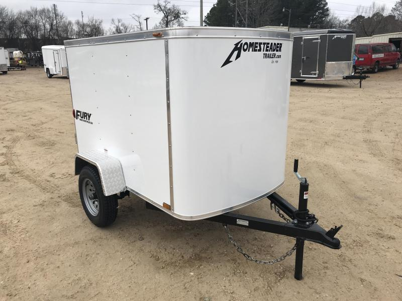 2018 Homesteader 4 x 6 Enclosed Cargo Trailer