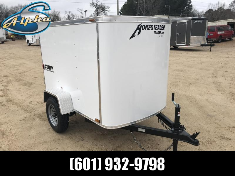 New 4 x 6 Luggage / Enclosed Cargo Trailer