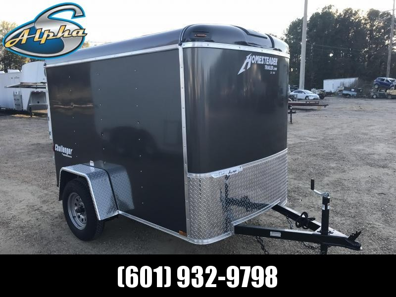 New 5 x 8 Single Axle Enclosed Cargo Trailer