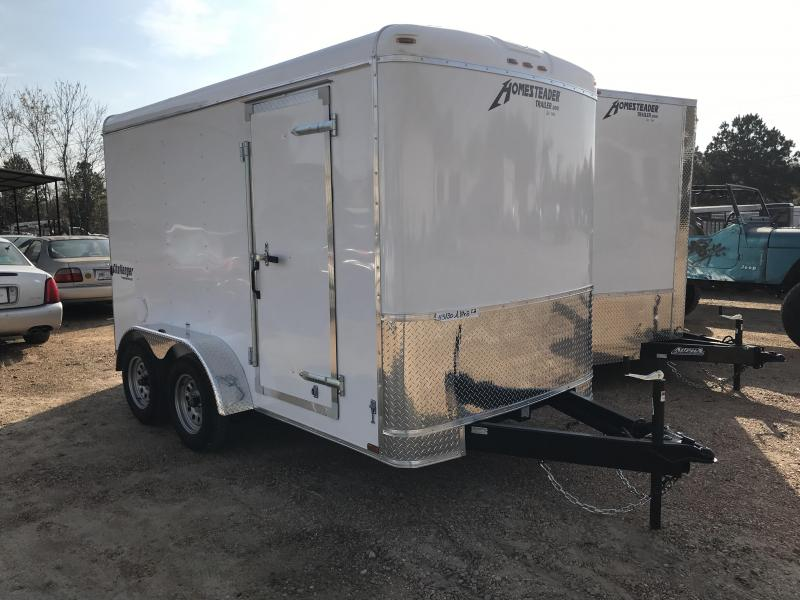 2018 Homesteader 6 x 12 Tandem Axle Enclosed Cargo Trailer