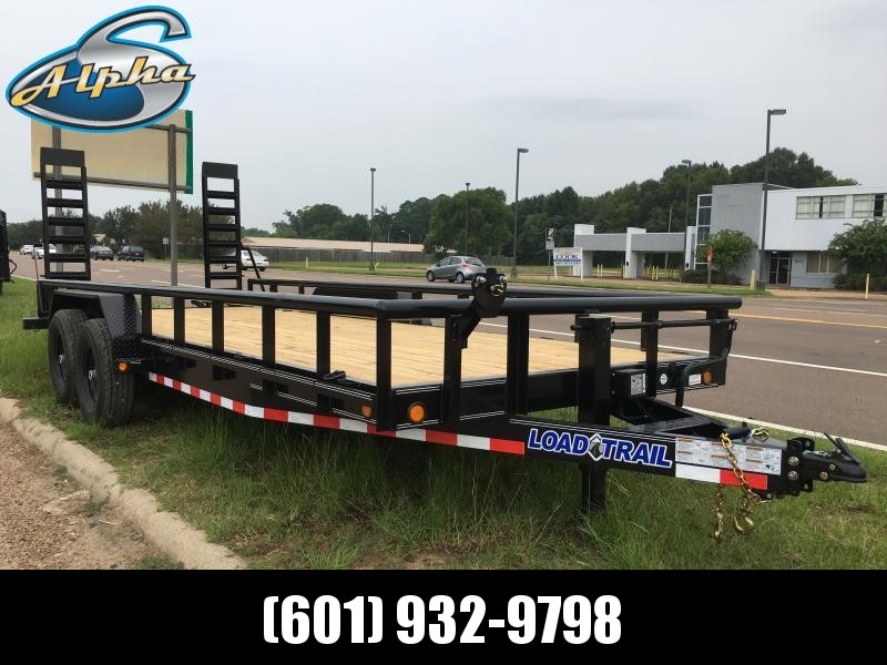 "2019 Load Trail 83"" x 20' Car/Equip. Hauler w/ Side Rails 14k GVWR"