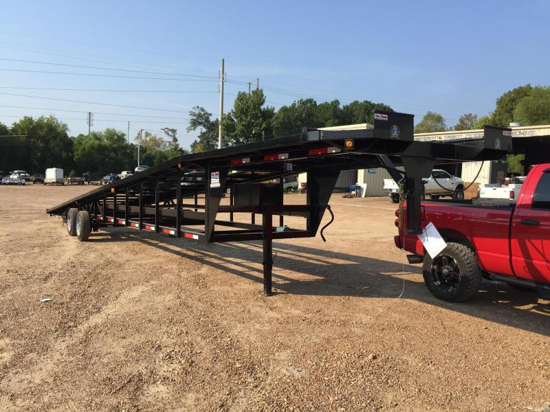 USED Take 3 Trailers 53XT 4 Car Hauler