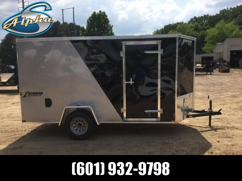 New 6 x 12 Single Axle Enclosed Cargo Trailer