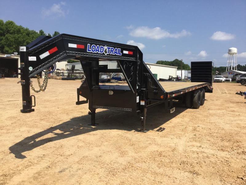 2018 Load Trail 102 x 28 Gooseneck Flatbed Trailer 22K GVWR