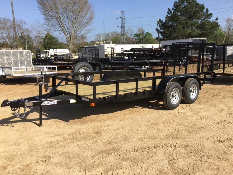 2018 Capstone 6.4 x 16 Tandem Axle Angle Top Utility Trailer