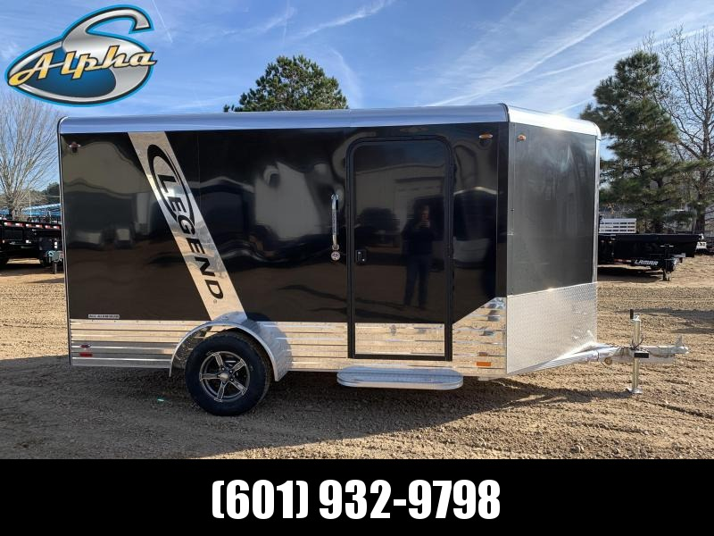 2019 Legend Aluminum 7 X 15 DELUXE Enclosed Cargo Trailer 3K GVWR