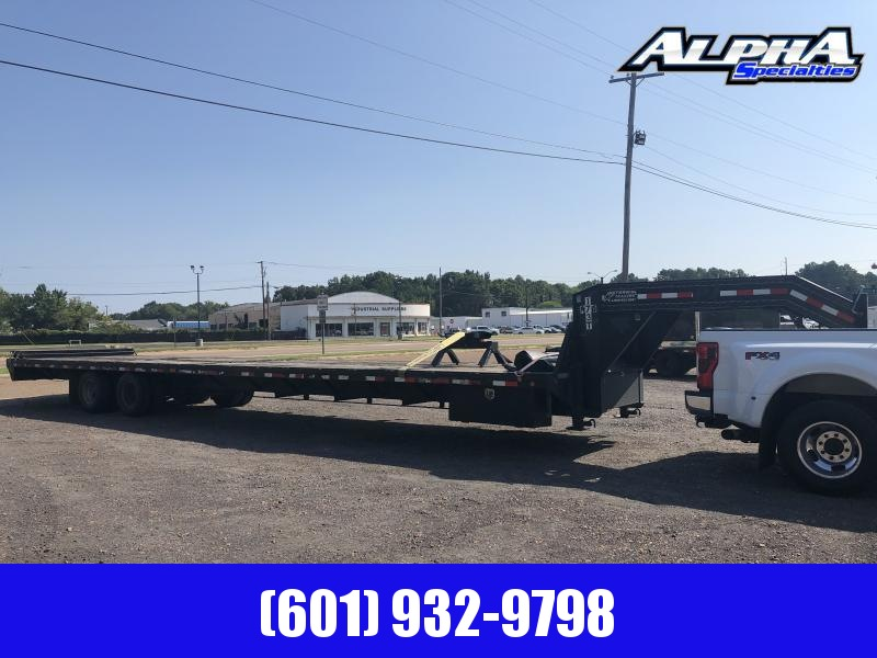 "USED 2011 PJ 102"" x 40' Flatbed Trailer 24k GVWR"