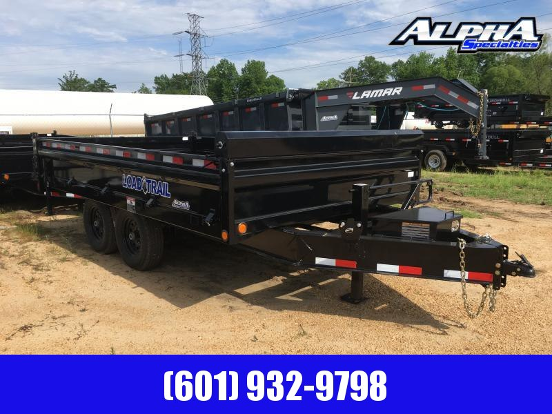 2019 Load Trail 96 (8') x 14 Deck Over Bumper Dump Trailer 14K GVWR
