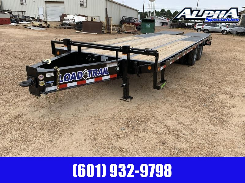 "2020 Load Trail 102"" x 25' Tandem Low-Pro Pintle Hook"