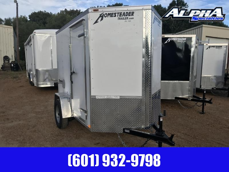 2019 Homesteader 5' x 8' Enclosed/Cargo Trailer 3k GVWR