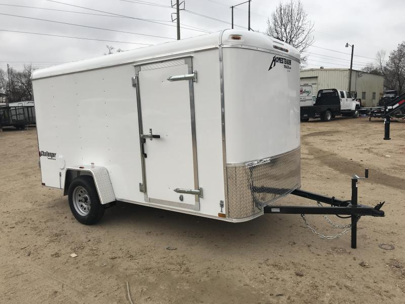 2018 Homesteader 6 x 12 Single Axle Enclosed Cargo Trailer