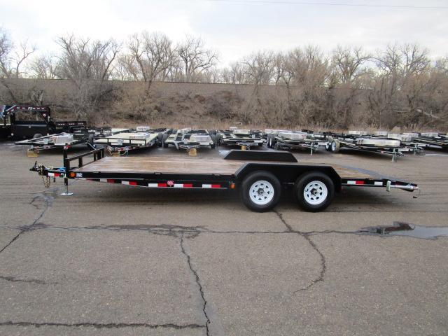 "USED 2019 PJ Trailers 20'x5"" Channel Equipment Trailer"