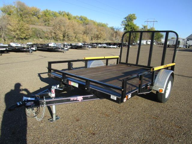 "Used 2016 PJ Trailers 77"" x 10"
