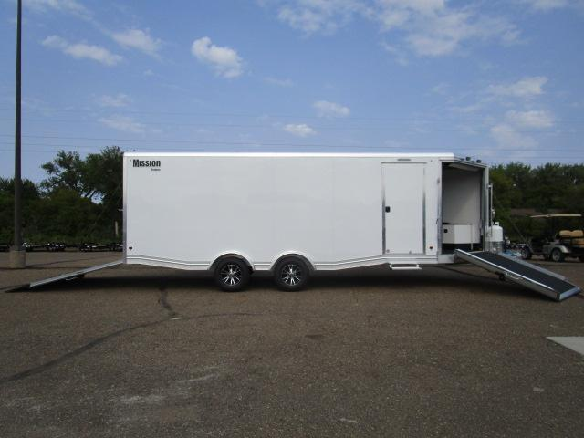 2019 Mission MCH8.5x22-AS All Sport Trailer Car Hauler/Snow Combo