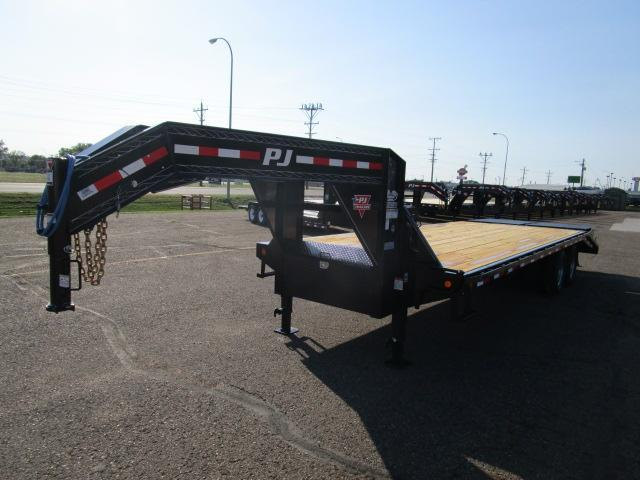2019 PJ Trailers 26' Classic Flatdeck with Duals Trailer