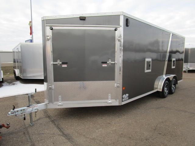2019 EZ Hauler EZES7.5X18-IF Enclosed Snowmobile Trailer