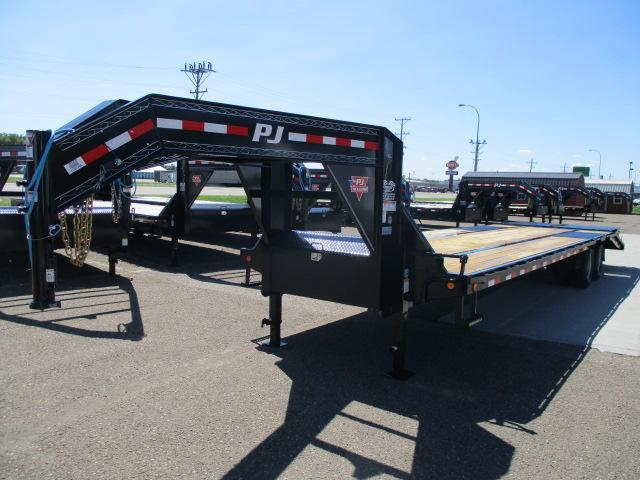 2020 PJ Trailers 32FT Low-Pro Flatdeck with Duals Trailer