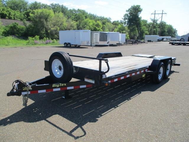 2017 Big Tex Trailers ET-20BK-MR Equipment Trailer