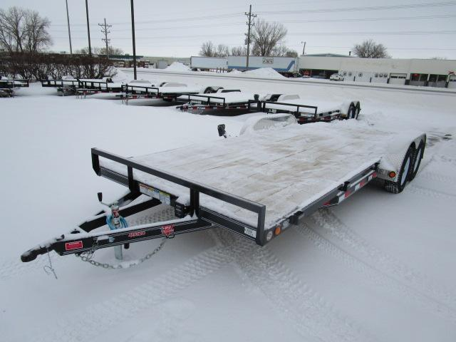"2019 PJ Trailers 20'x4"" Channel Carhauler Trailer"
