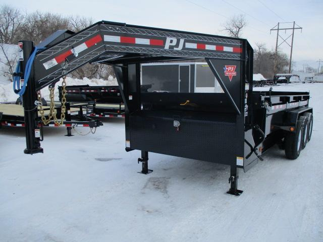 "2019 PJ Trailers 16' x 83"" Low Pro Dump Trailer"