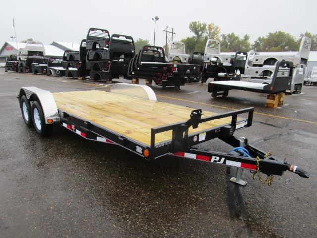 "2019 PJ Trailers 18'x5"" Channel Carhauler Trailer"