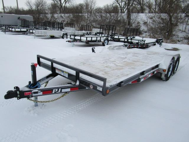 "2019 PJ Trailers 20'x5"" Channel Equipment Trailer"