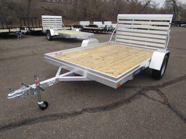 2018 Aluma 7810 Edge Series Wood Deck Utility Trailer