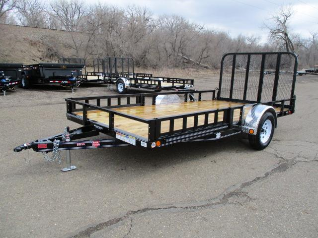"2020 PJ Trailers 14'x83"" Single Axle Channel Utility Trailer"