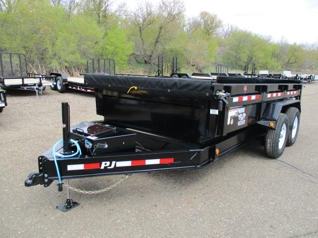 "2020 PJ Trailers 14'x83"" Low Pro Dump Trailer"