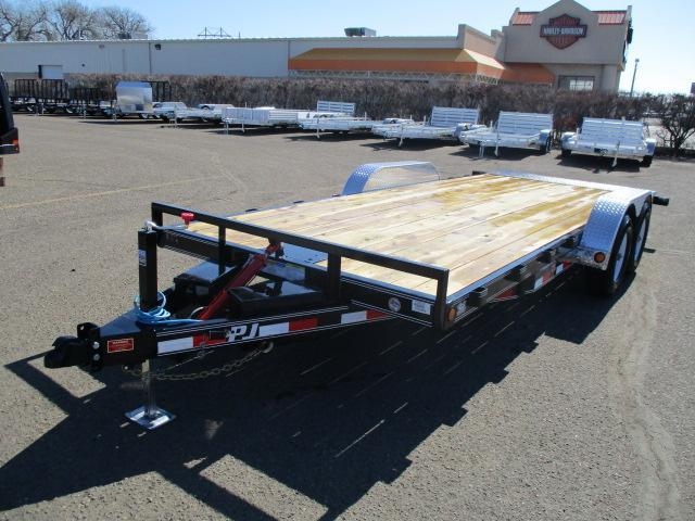 2019 PJ Trailers 20x83 Hydraulic Quick Tilt Car / Racing Trailer
