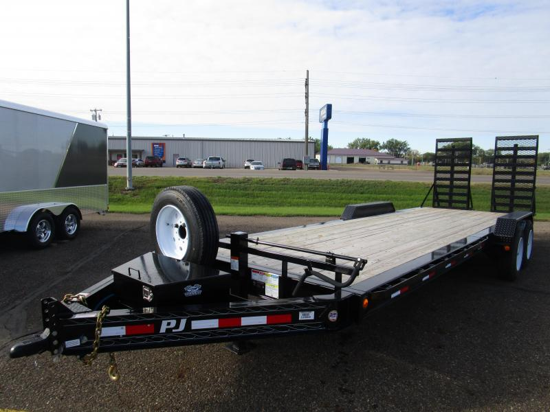"2018 PJ Trailers 24x8"" Pro-Beam Equipment Trailer"