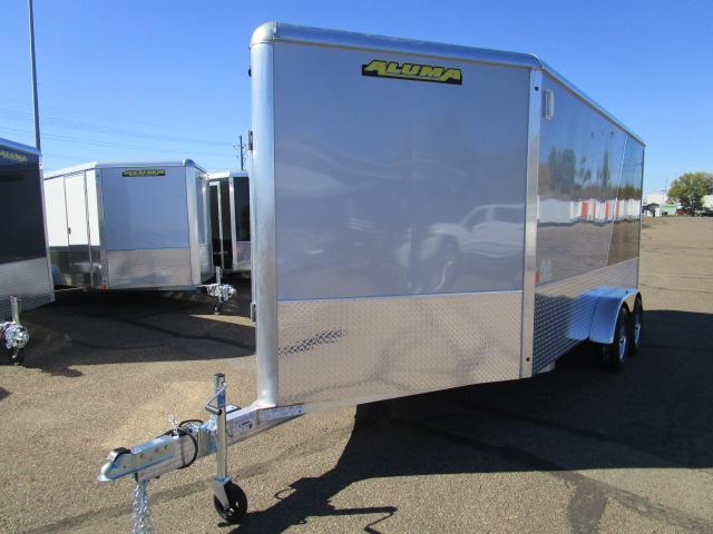 2018 Aluma AE714TAVSP Enclosed Snowmobile Trailer