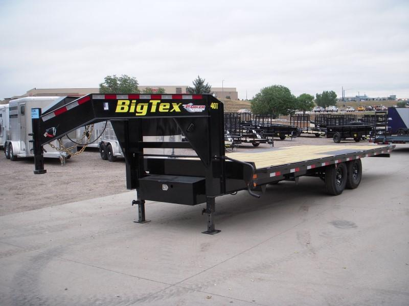 2018 Big Tex Trailers 14OT-24GN Flatbed Trailer