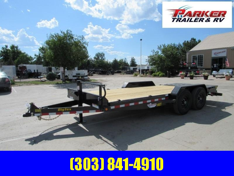 2020 Big Tex Trailers 14ET-18BK-MR Flatbed Trailer