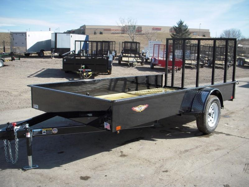 2018 H&H H7612SS-030 Utility Trailer