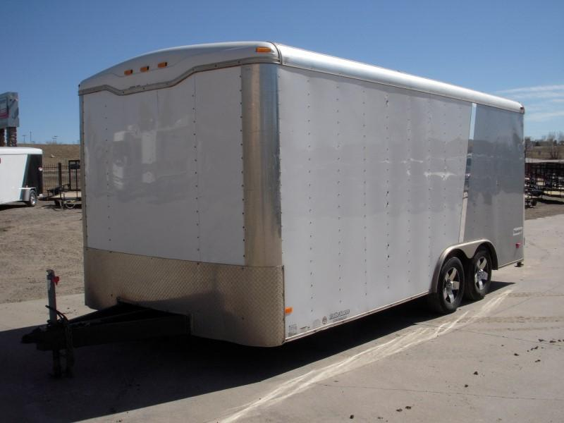 2015 Haulmark 8.5X18 Enclosed Cargo Trailer