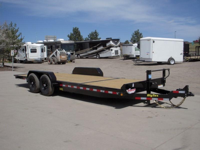 2018 Big Tex Trailers 14TL-22BK Flatbed Trailer