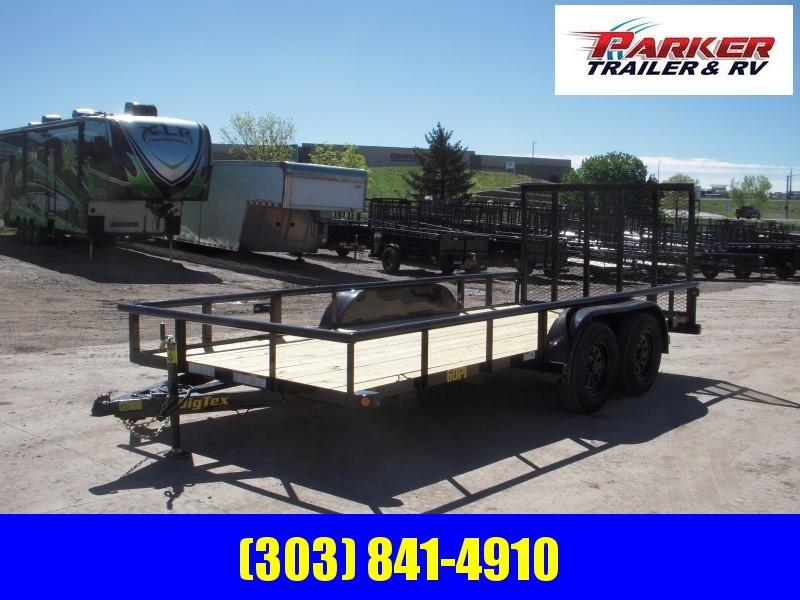 2020 Big Tex Trailers 60PI-16BK4RG Utility Trailer
