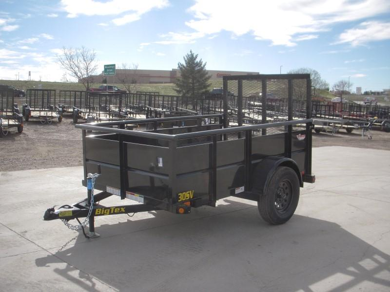 2020 Big Tex Trailers 30SV-08BK Utility Trailer