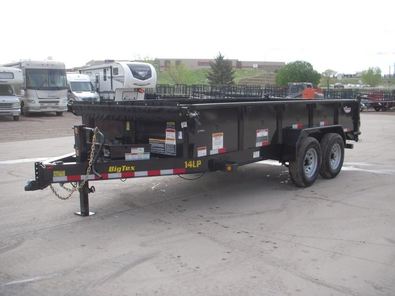2020 Big Tex Trailers 14LP-16BK6SIRPD Dump