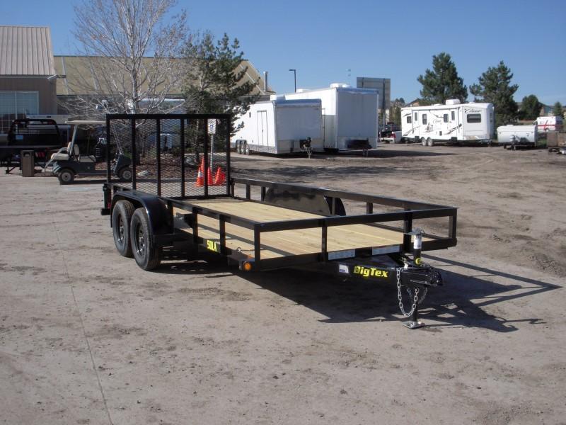 2018 Big Tex Trailers 50LA-16BK4RG Utility Trailer