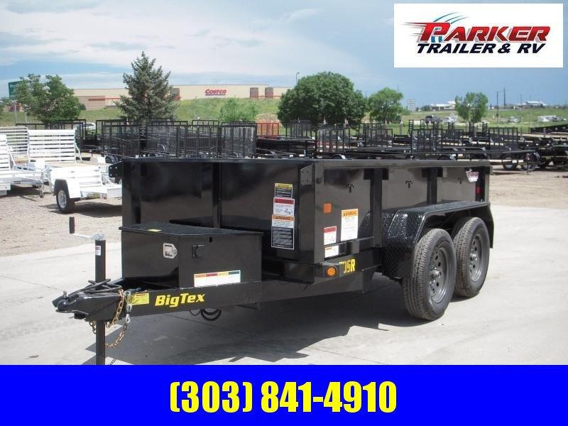 2020 Big Tex Trailers 70SR-10-5WDD Dump