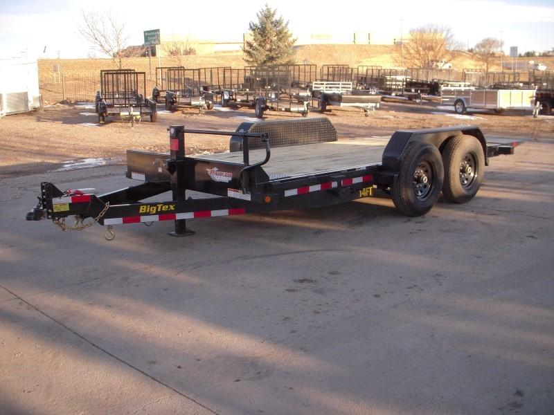 2019 Big Tex Trailers 14FT-16 Flatbed Trailer