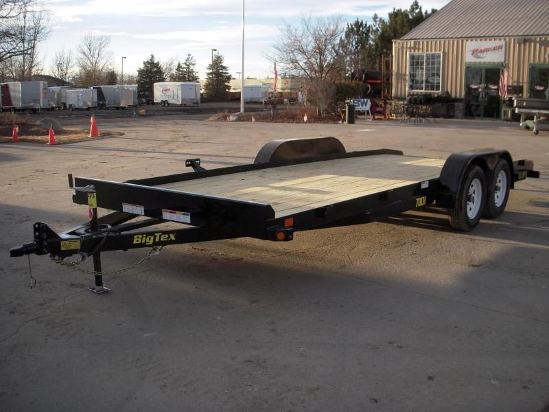 2018 Big Tex Trailers 70CH-20BKDT Flatbed Trailer