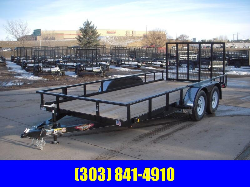 2019 H&H H8216TRS-070 Utility Trailer
