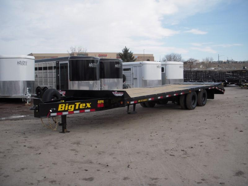 2019 Big Tex Trailers 22PH-25BK+5MR Flatbed Trailer