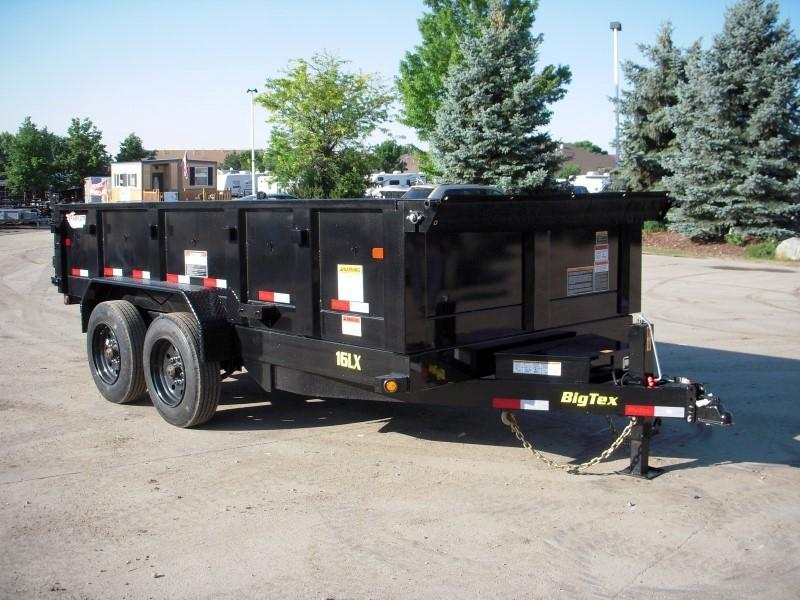 2019 Big Tex Trailers 16LX-14BK7SIRPD Dump