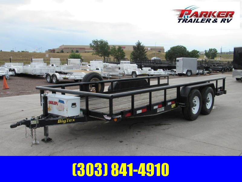 2011 Big Tex Trailers 12PI-18 Flatbed Trailer